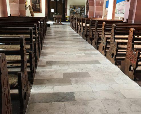 Kirchenboden-Jura-Reparatur-Feinschliff-Impraegnierung