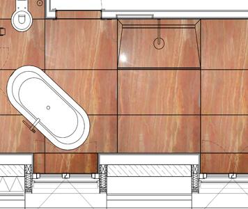 Planung und Montage von Steinböden, Steintreppen, Natursteinwänden, Waschtischen oder Küchenarbeitsplatten in Haus und Büro - Stoffaneller Frankfurt