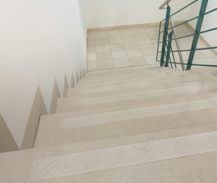 Treppenanlage nachher