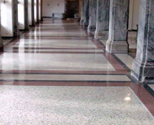 Terrazzo-Schleifen-Polieren-Impraegnieren