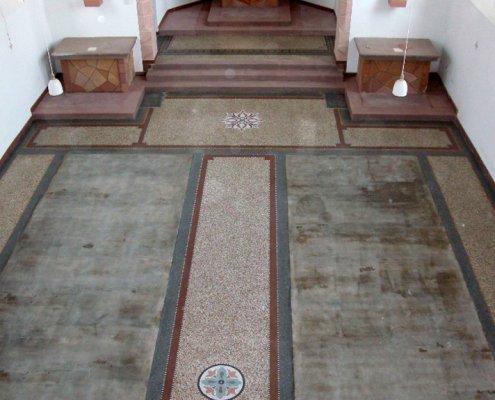 Terrazzo-kirche-feingeschliffen